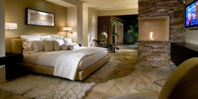 ... beautiful bedrooms good with beautiful stone tile flooring, this master UZWTNTQ