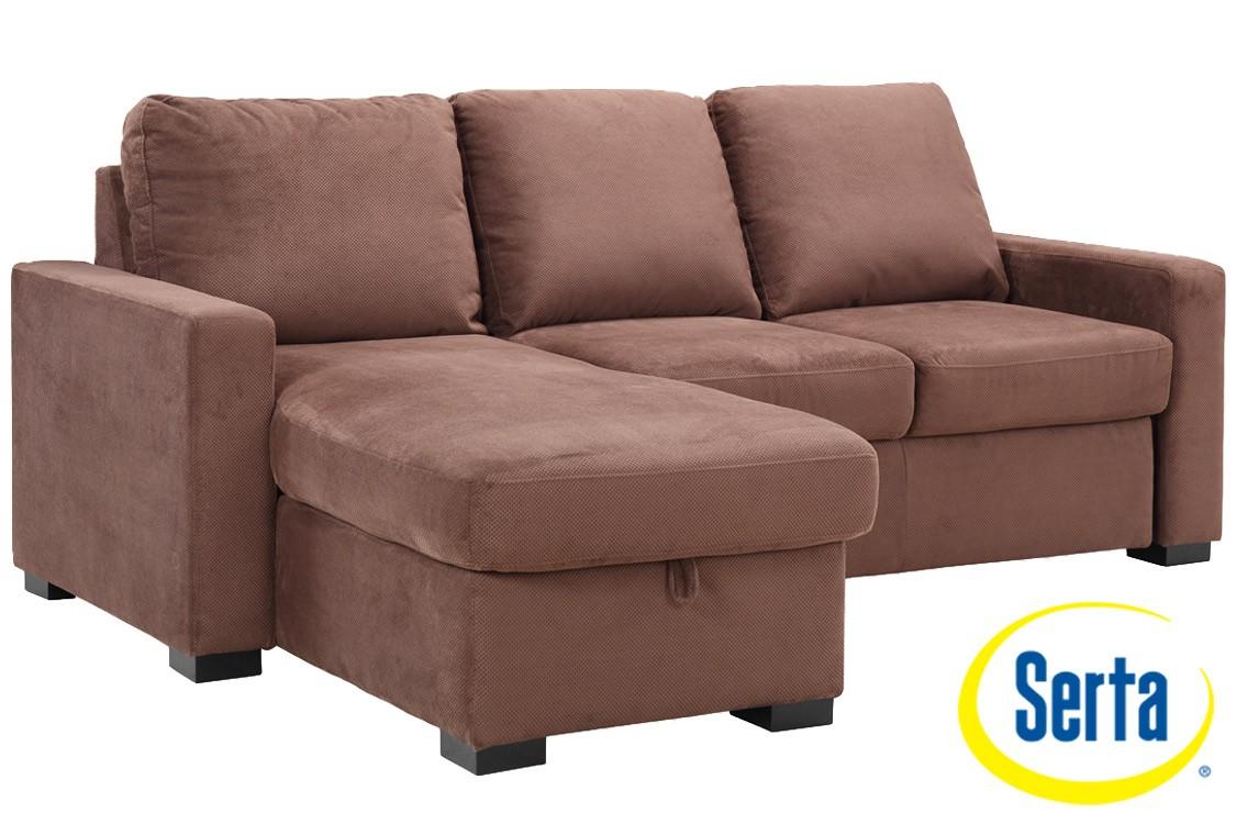 ... brown futon sofa sleeper ... HJDXNUZ