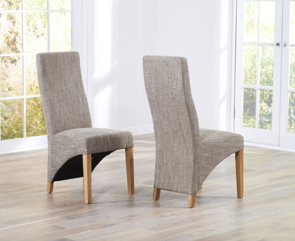 ... fabric dining chairs 40 ... JFWNZMC