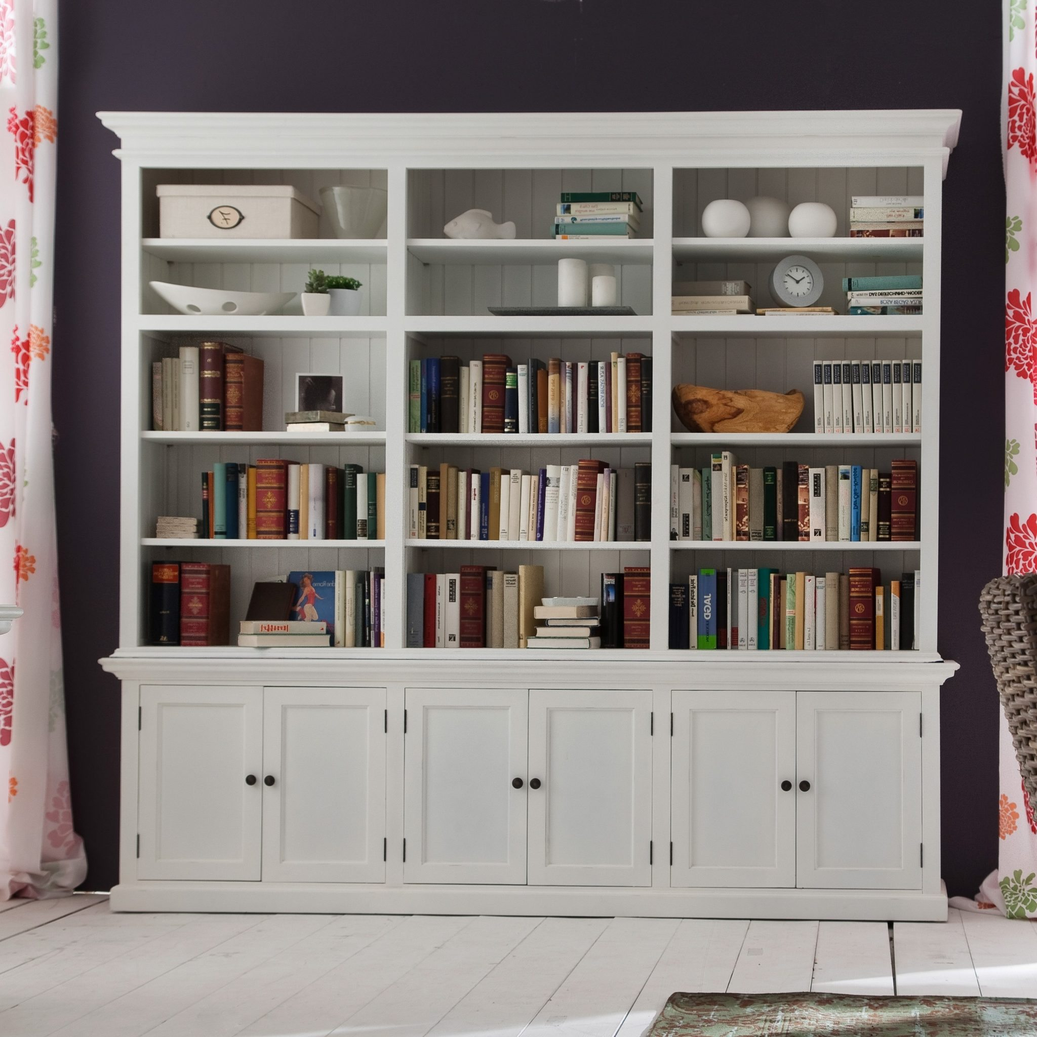 ... marvelous extra tall bookcase tall bookshelves walmart white bookcase  with books: ZXTCOVD