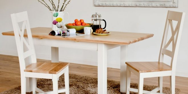 ... small dining table with brown and white color combination ... BARDXSV