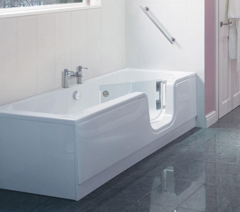 New way to bath by walk in baths goodworksfurniture for Handicap baths