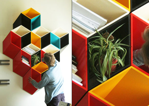 18 insanely cool bookshelves youu0027ll want to own PSMXWOR