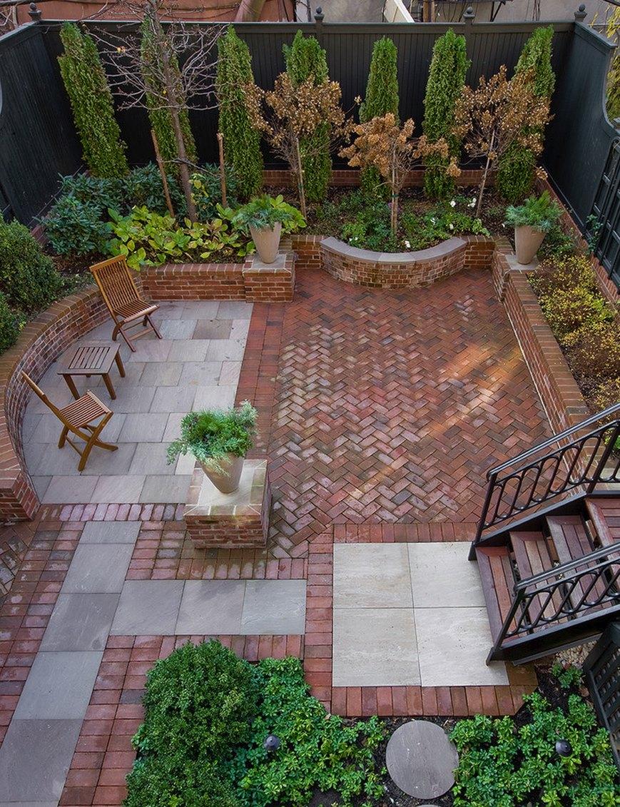 20 charming brick patio design brick patio designs for your garden WMSADRW
