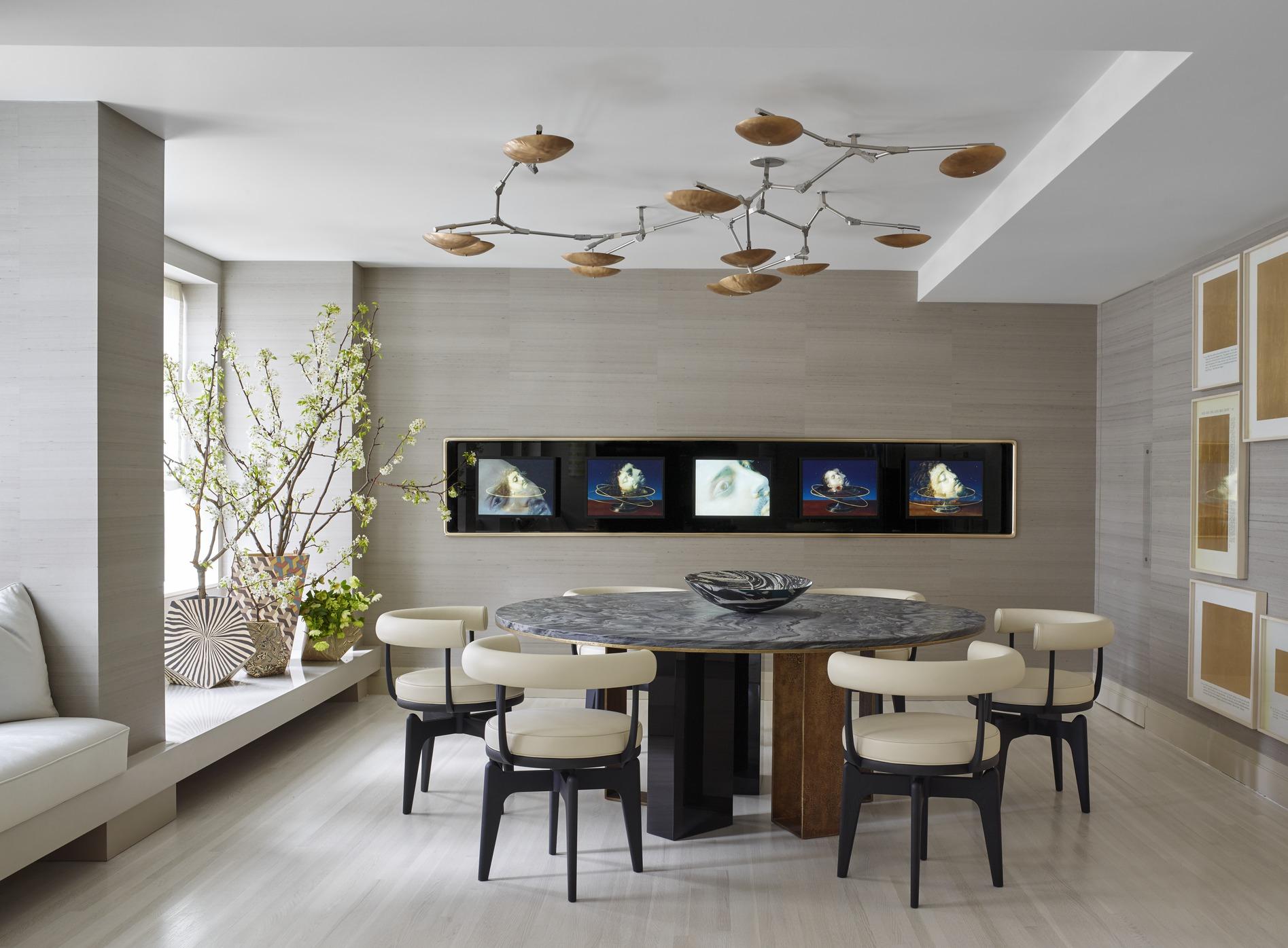 25 modern dining room decorating ideas - contemporary dining room furniture JBGWQIV