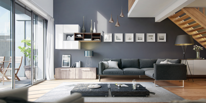 25 modern living rooms with cool, clean lines TZADNTF