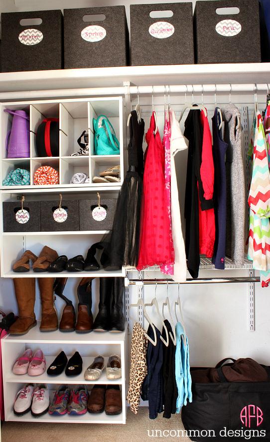 30 closet organization ideas - best diy closet organizers IDZGXYX