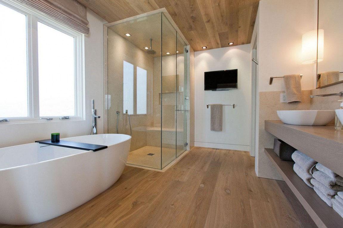 30 modern bathroom design ideas for your private heaven - freshome.com KJQUMCZ