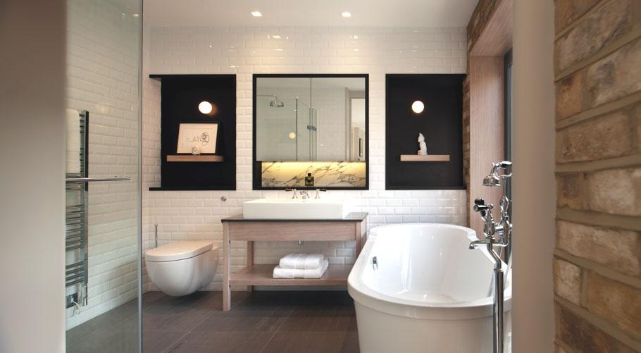 30 modern bathroom design ideas for your private heaven - freshome.com LCODOGR
