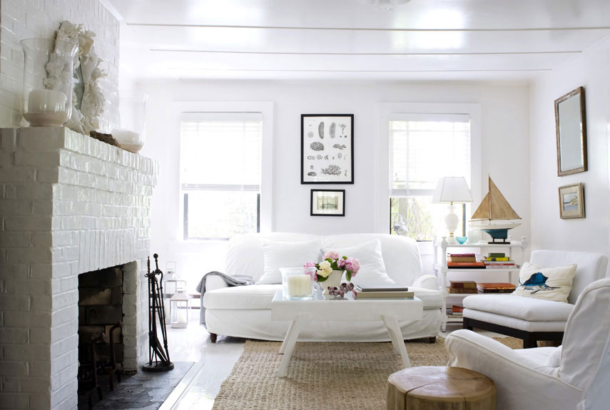 30 white living room decor - ideas for white living room decorating MLFOPAH