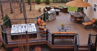 32 wonderful deck designs to make your home extremely awesome ECKEQYR