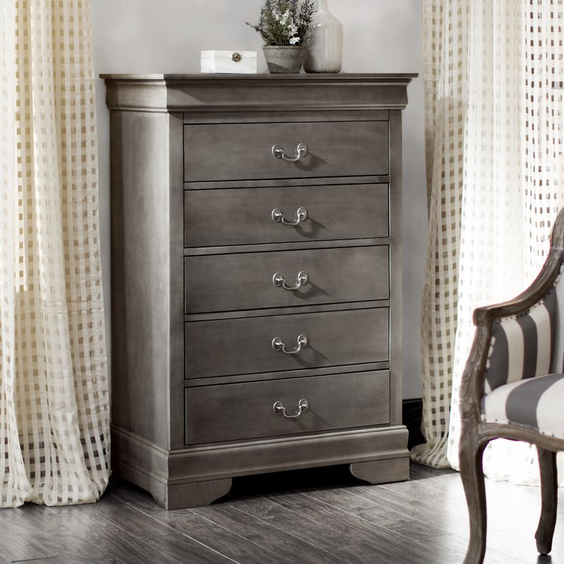 5 Drawer dresser: A simple item with multiple