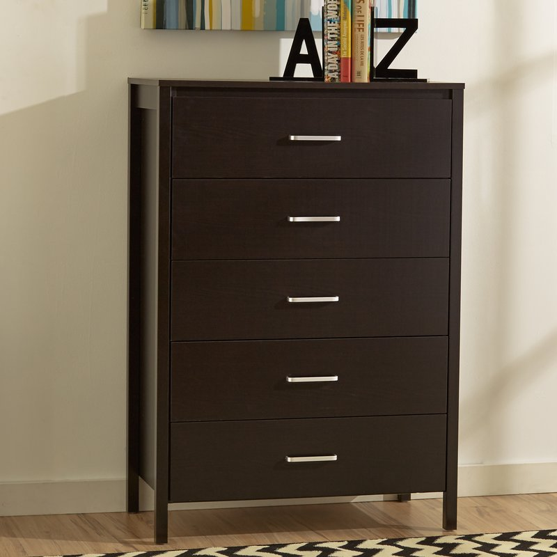 5 drawer dresser lupe 5 drawer chest ONHTMXJ