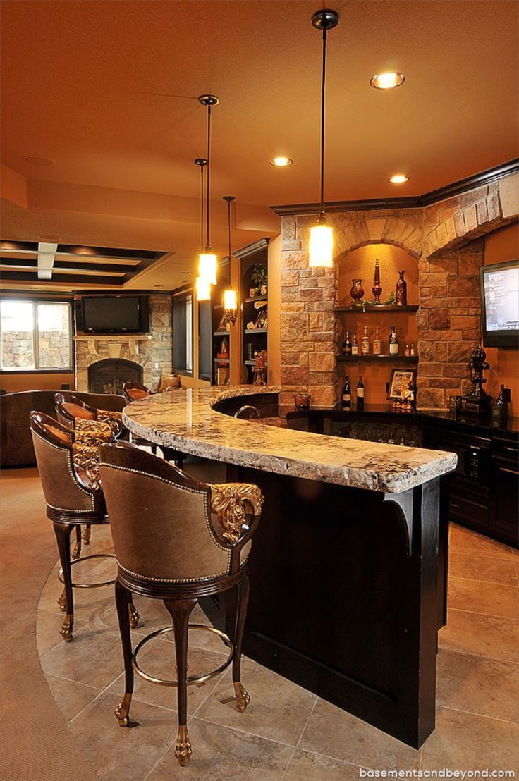 50 Stunning Home Bar Designs BPSKFMX