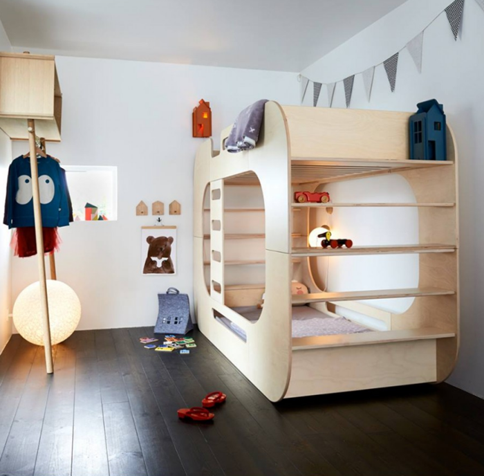7 original bunk beds for kids FUITPXI