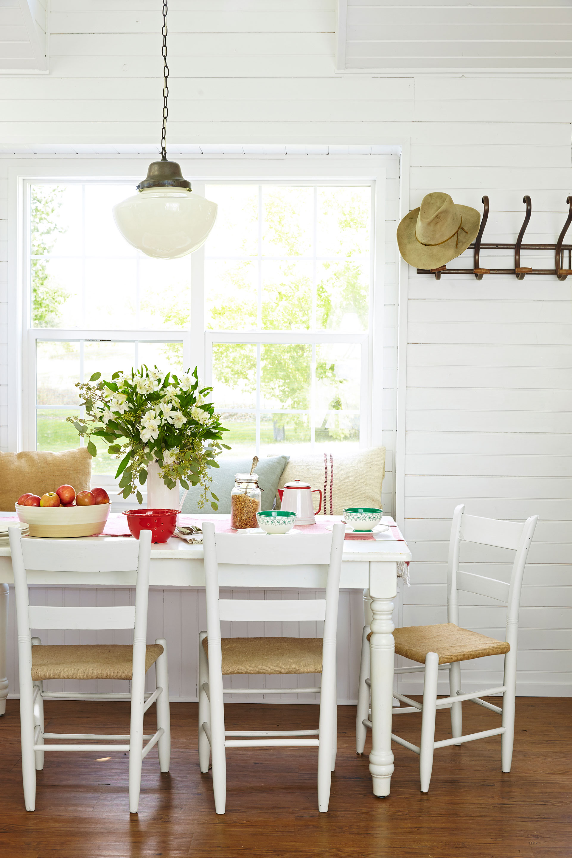 85 best dining room decorating ideas - country dining room decor UWXIQJN