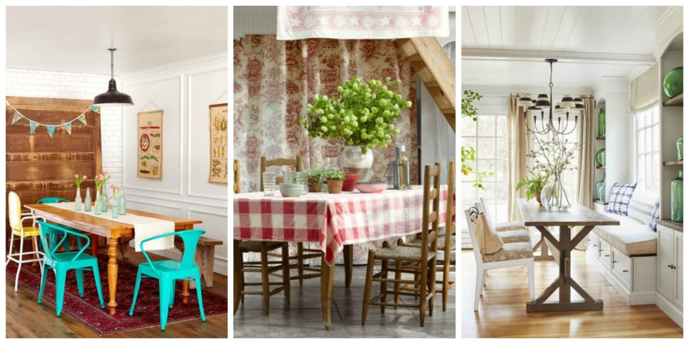 85 best dining room decorating ideas - country dining room decor VDHFEPG