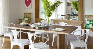 85 best dining room decorating ideas - country dining room decor VNLXRFH