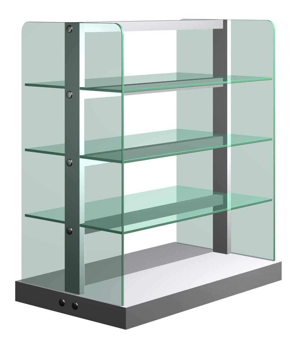8mm tempered glass for glass shelves, tempered glass shelves manufacturer,  glass panels RBIKVJG