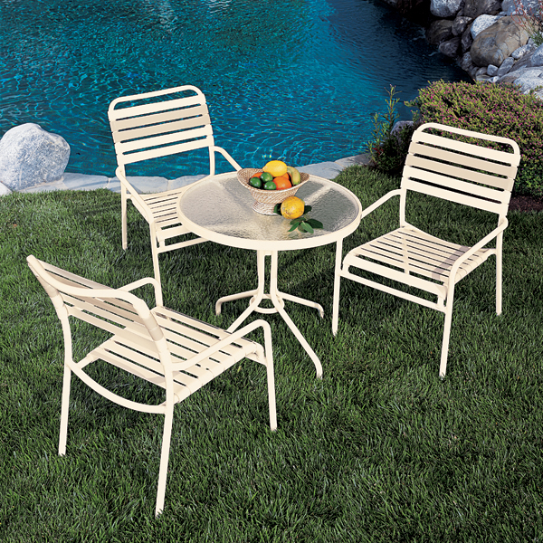 aluminum patio furniture kahana strap by tropitone all three of these categories of outdoor aluminum QDPMIDB