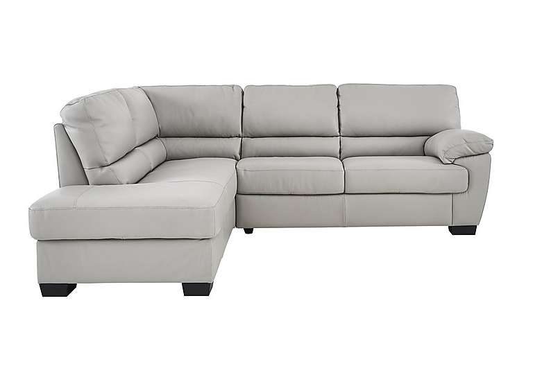 Alvera Leather Corner Sofa Qthvfsx