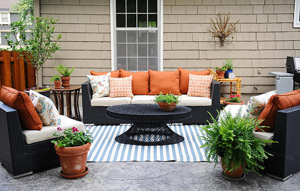 amazing of decorating patio ideas patio decorating ideas a modern chic patio DIYGXHB