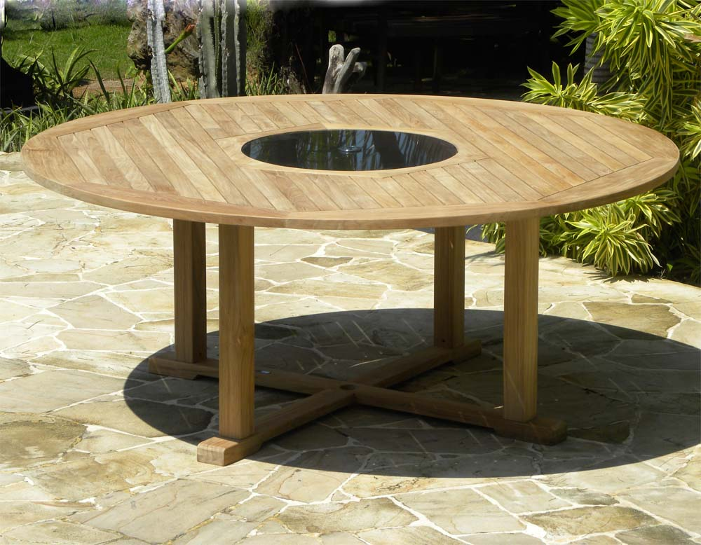an overview of round garden tables - decorifusta BHEPZUV
