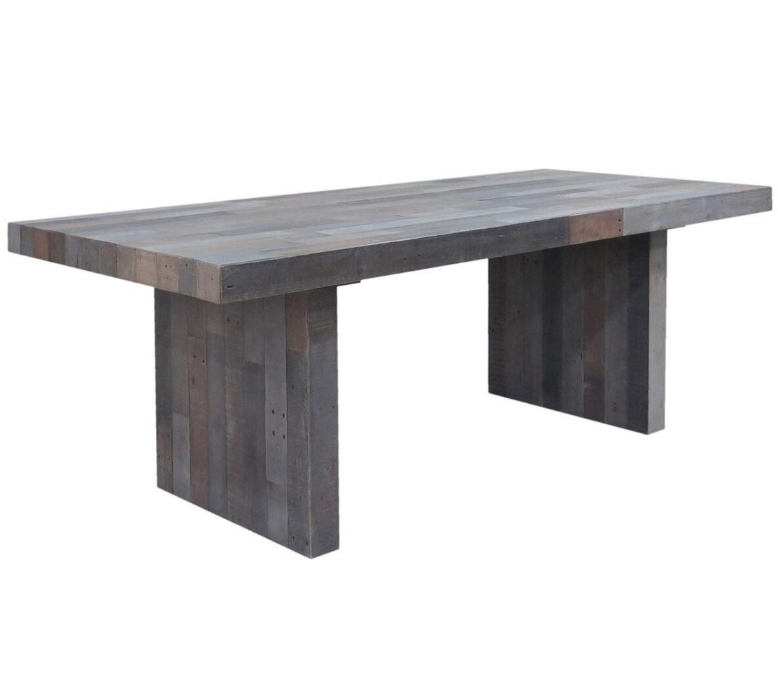 angora storm reclaimed wood dining table 82 DIPGYSH