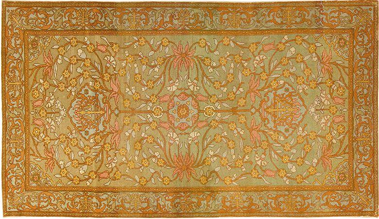antique bezalel oriental rug LIVALHA