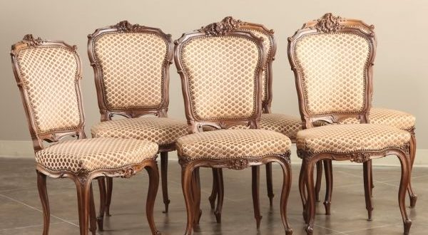 Antique Dining Chairs Antique Dining Room Furniture | Dining Chairs | Set  Of 6 Louis MNOZRPR