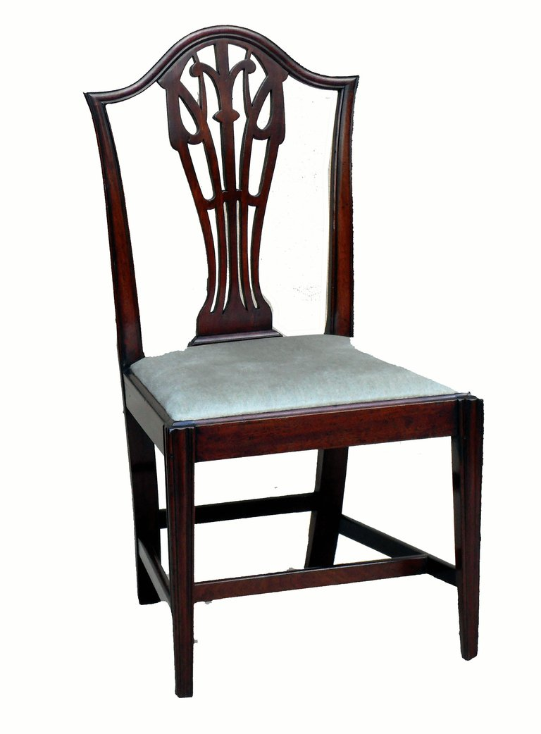 antique dining chairs antique set of six mahogany dining chairs 2 RGWHLYB