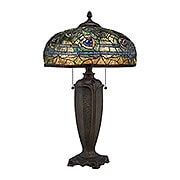 antique lamps lynch desk lamp in russet (item #rs-03qz-tf1487t) JSKZILG