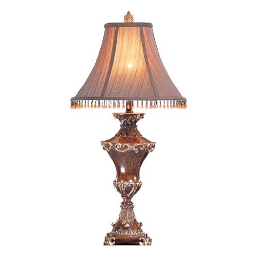 antique lamps ok lighting ok-4171t 31-inch h resemble wood table lamp NRSPXXH