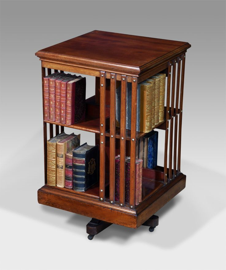 Revolving Bookcase for Easy Reading and Reasears