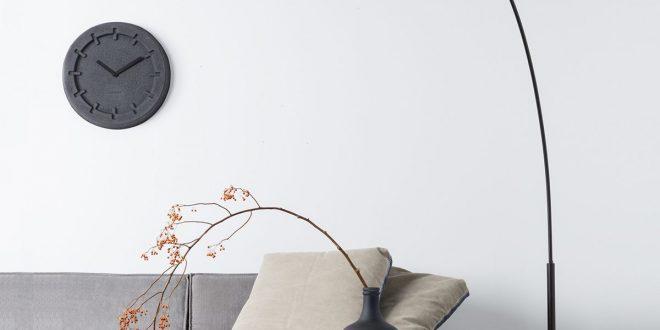 arc floor lamp in black color SLJYUHL