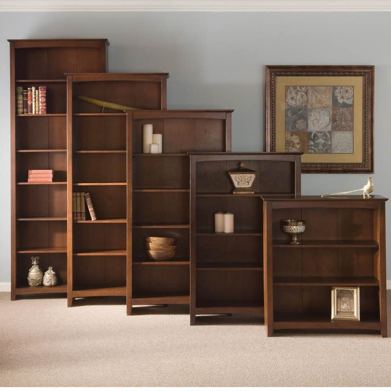 Find Wood Bookcases for Your Precious Collection of Books
