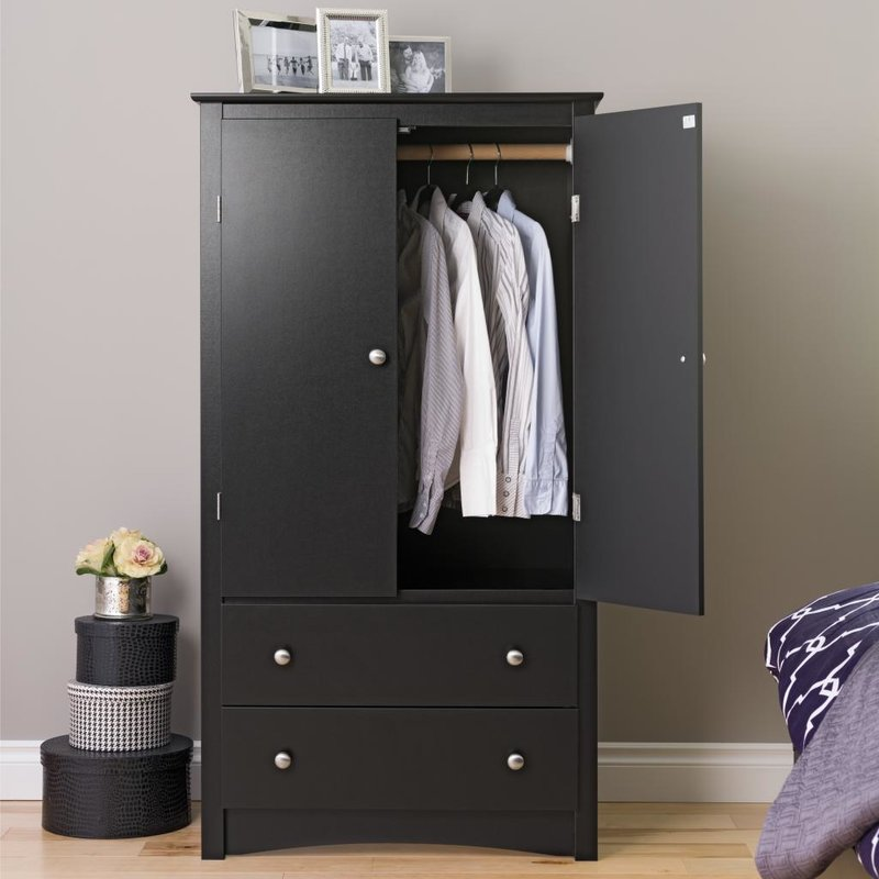 armoire furniture armoires u0026 wardrobes youu0027ll love | wayfair GSQWVUY