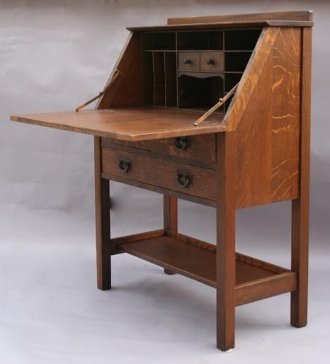 arts and crafts furniture arts u0026 crafts secretary desk EBITQEL