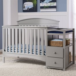 baby beds crib u0026 changing table combo DDDQXSU