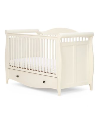 baby beds mothercare bloomsbury cotbed - ivory QJMDYEL
