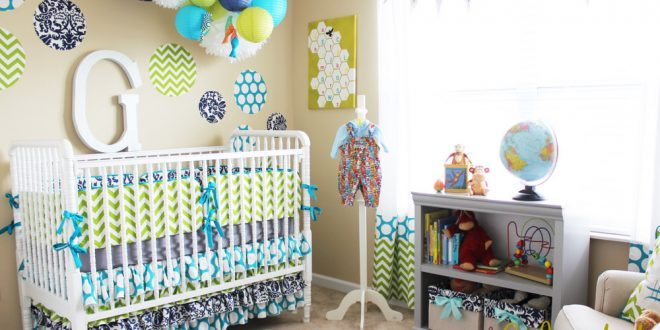 Attractive Baby Room Decor ... Dazzling Design Ideas Baby Boy Room Decoration Pictures  9 Awesome