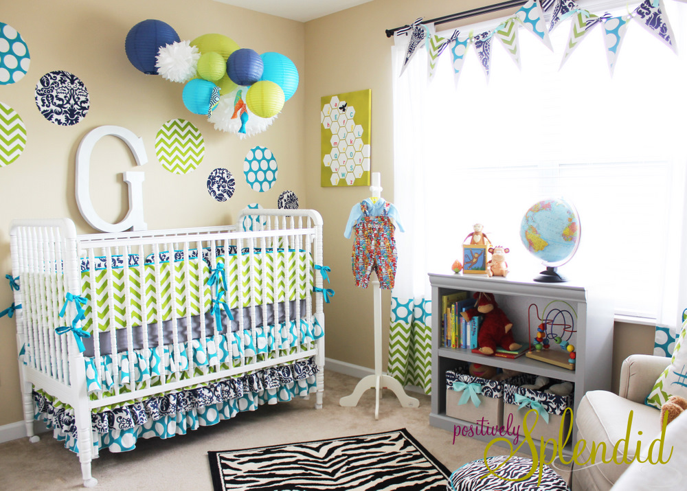 Welcome Your New Born Child With Wonderful Baby Room Décor