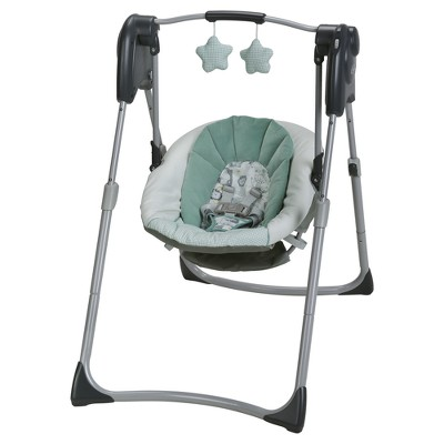 baby swings graco® slim spaces™ compact baby swing OJTBWUW