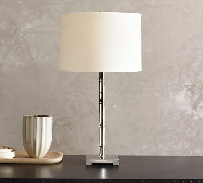 bamboo bedside lamp base | pottery barn TDBPUIL