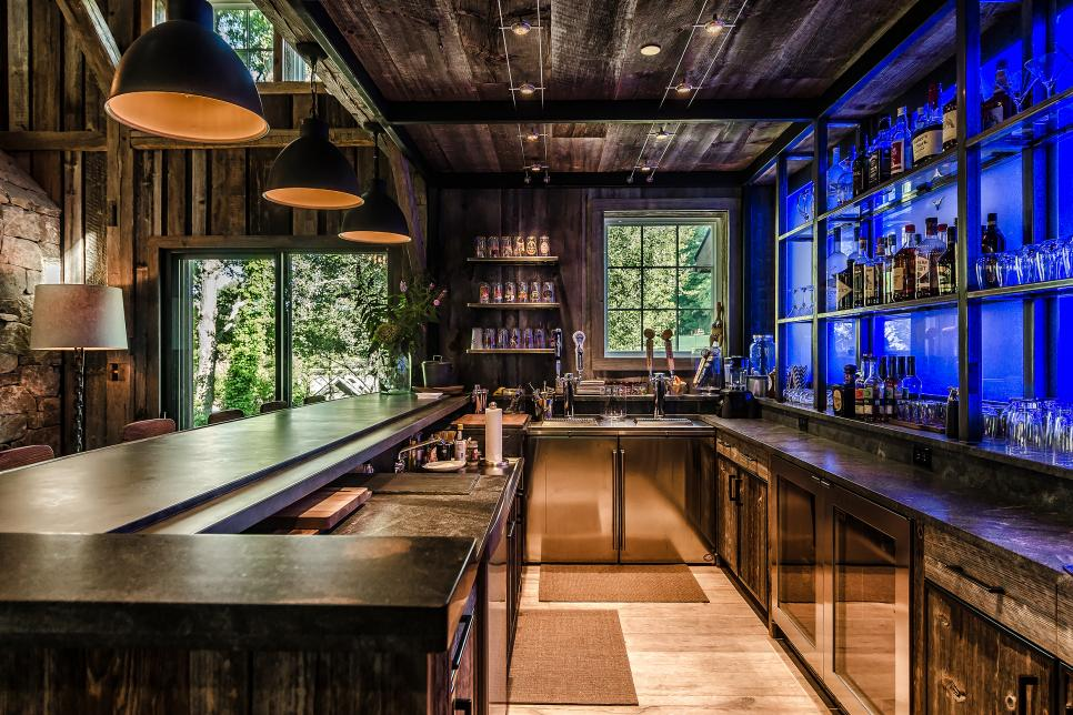bar design home bar ideas: 89 design options | hgtv ZIRSGPG