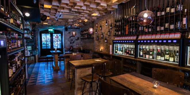 bar design vagabond wines (spitalfields, london, uk) / finch interiors. image courtesy  of SGXBZNS