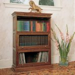 Having an antique barrister bookcase