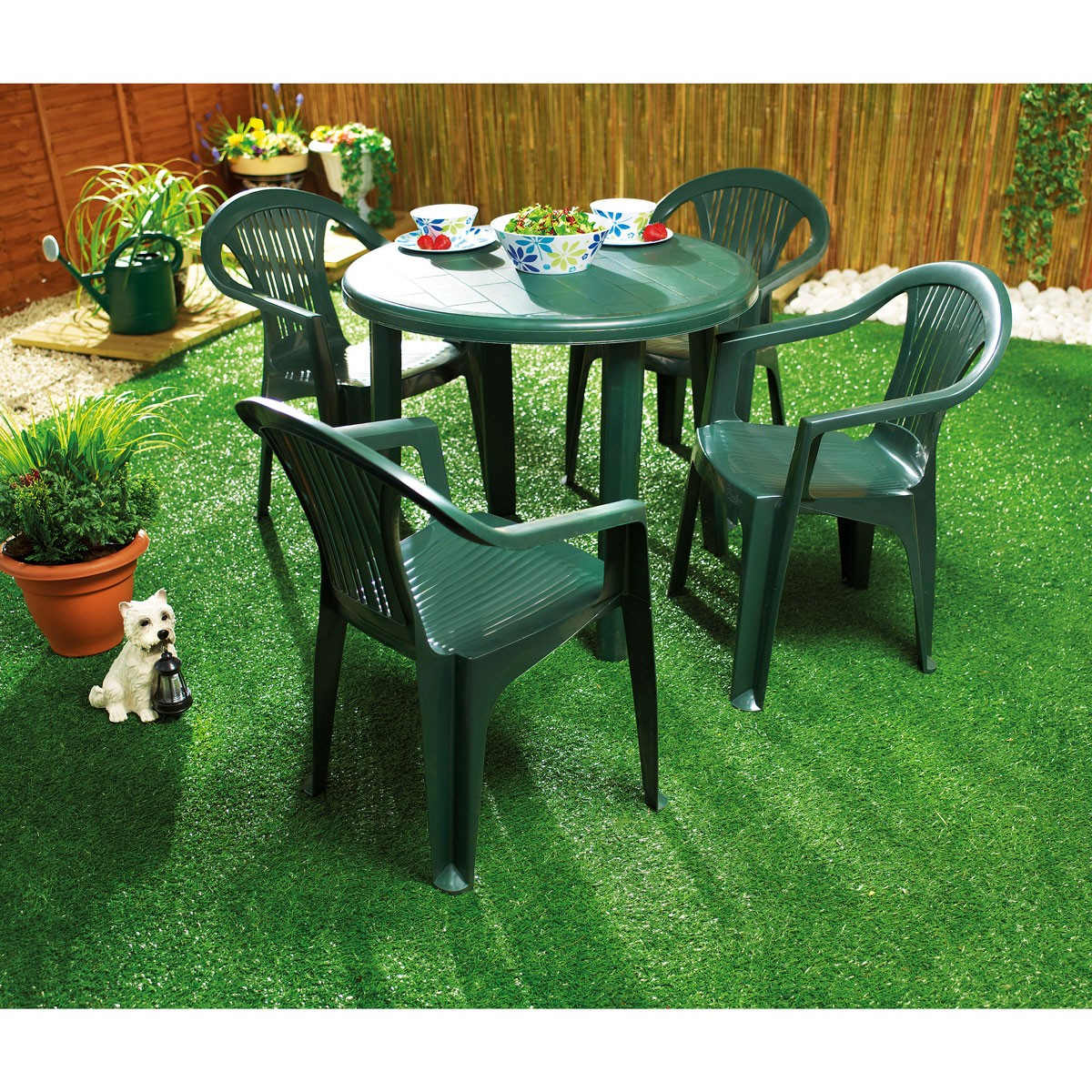 basic plastic garden furniture JYKWWOW