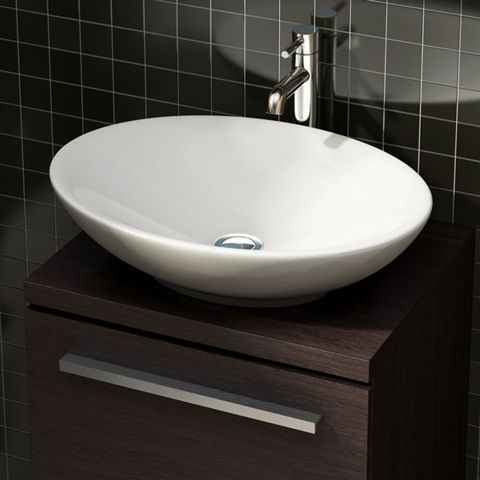bathroom basins this stunning classic style geneva counter top oval basin from pura is LUKCAHI