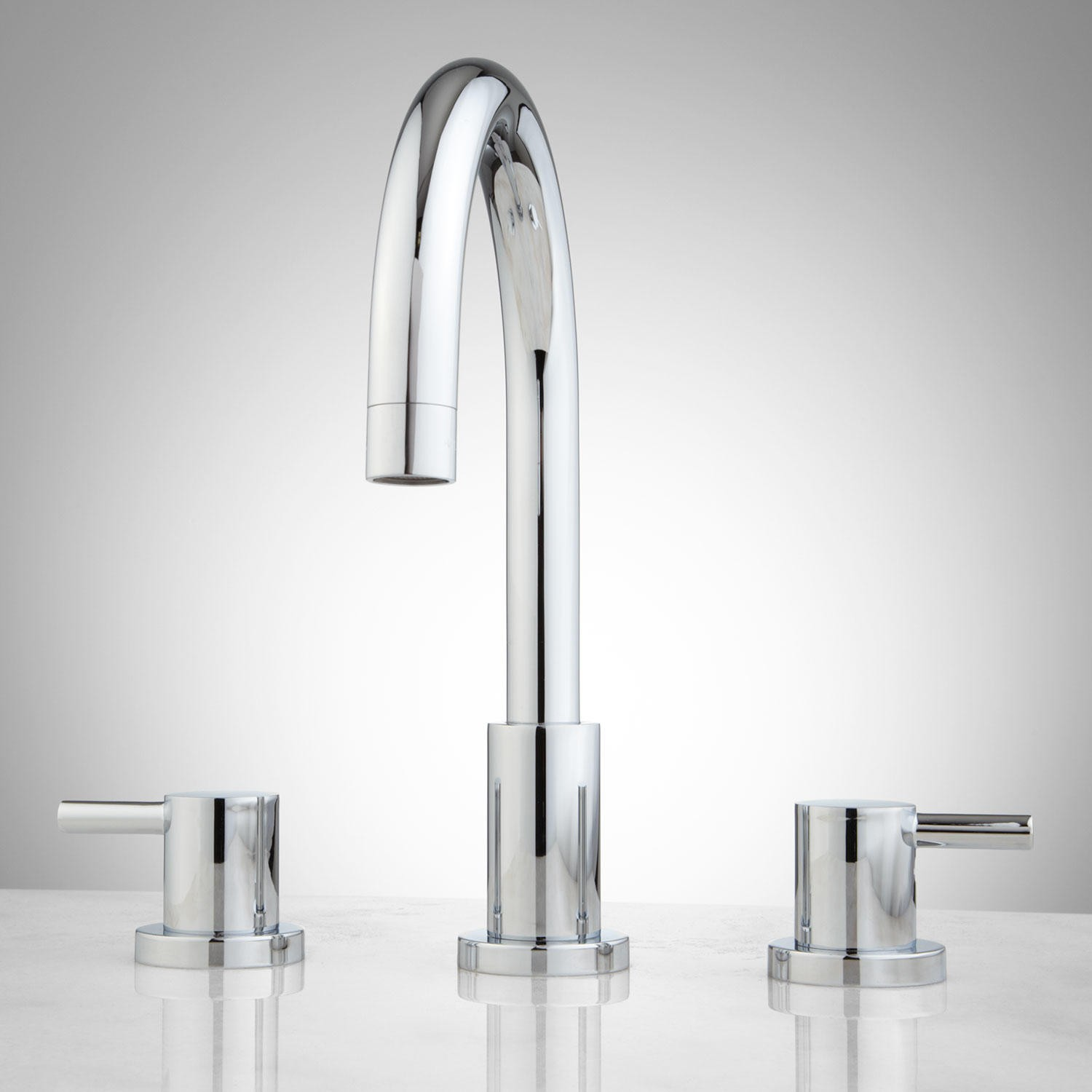 bathroom faucets rotunda widespread bathroom faucet - lever handlescreate modern class with  the KIKIAFR